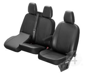 Sitzbezüge 1+1 Schonbezüge Sitzbezug für Opel Vivaro Elegance DV1L