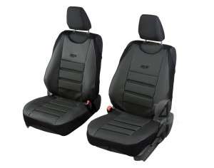 Sitzbezüge Schonbezüge SET EE Citroen Jumper Stoff dunkel grau