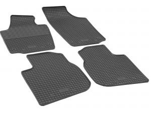 Gummifußmatten für Seat Alhambra 7-Sitzer ab 2010 Passgenau ideal Angepasst