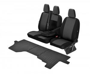 TXTrade Sitzbez/üge VIP Passgenau geeignet f/ür FIAT TALENTO ab 2016-2+1